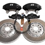 Audi TTS 8S 4Pot Brake kit Upgrade DBA 42830S T3 Slotted brake discs NEW