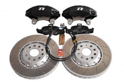 Golf 7R Golf 6 R20 4Pot Brake kit Upgrade ClubSport Audi TTS 8S NEW Black