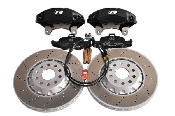 Golf 7R Golf 6 R20 4Pot Brake kit Upgrade ClubSport Audi TTS 8S NEW Black
