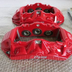 Audi RS6 RS7 Brake Calipers Brembo 6 pot Red www.KillerBrakes.com