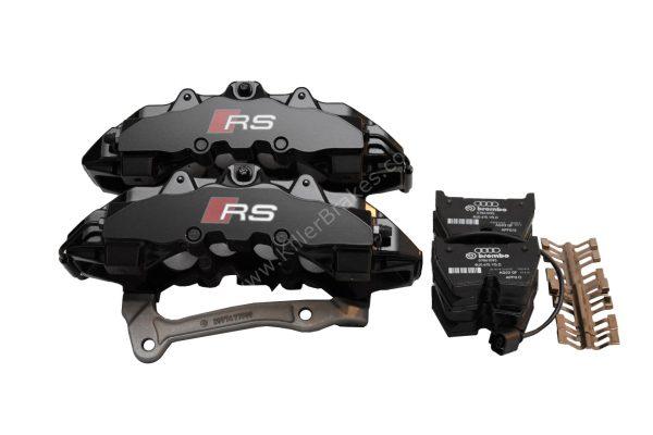 Audi RSQ3 Brembo 8Pot Calipers 8U0615107 8U0615108 20.7675.02 brackets pads pins NEW