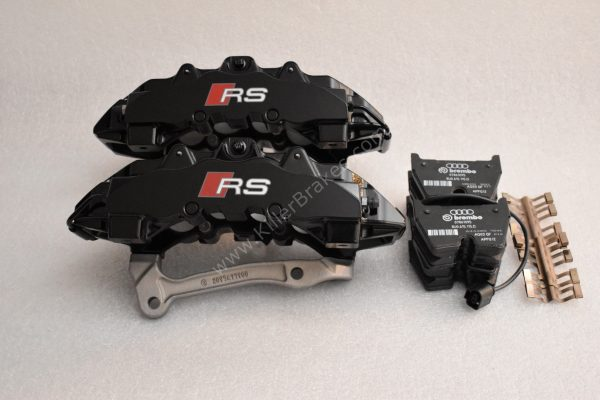 Audi RSQ3 Brembo 8Pot Calipers 8U0615107 8U0615108 20.7675.02 brackets pads pins NEW-42