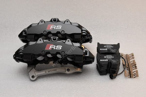 Audi RSQ3 Brembo 8Pot Calipers 8U0615107 8U0615108 20.7675.02 brackets pads pins NEW-45