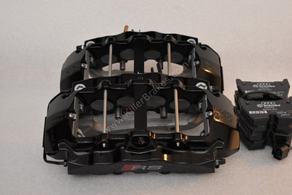 Audi RSQ3 Brembo 8Pot Calipers 8U0615107 8U0615108 20.7675.02 brackets pads pins NEW-47