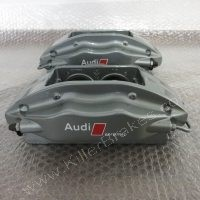 Audi R8 4 Pot Brembo Ceramic Rear Brake Calipers Big Upgrade www.KillerBrakes.com