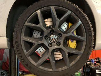 Golf 6 ED35 Brembo 4pots Tarox Brake discs