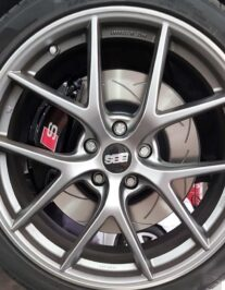Audi A4 B8 Brake upgrade 4pot calipers 345x30mm brake discs