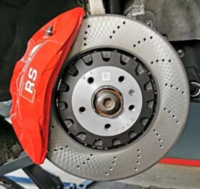 Audi A4 B9 brake upgrade 6pots with 375x36mm brake discs