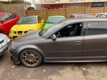 Audi Rs3 8p brembo 8pot calipers upgrade