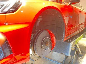 Audi Rs4 B9 Ceramic brakes