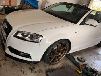 Audi TT 8J Big Brakes 4pots clubsport