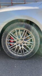 Passat B8 from Romania with Brembo 4pot calipers and clubsport 340x30mm brake discs
