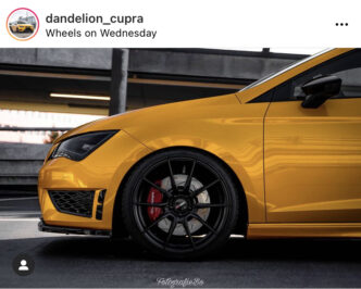 Seat Leon Cupra 4pot Brake kit TTS 8s 4pots KillerBrakes