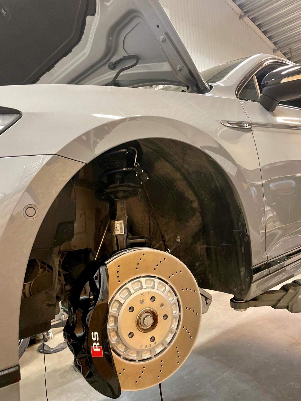 Tiguan R Brake upgrade big brake 6pot 374x34mm killerbrakes 3