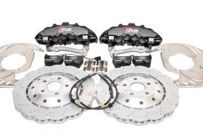 Audi RSQ3 Big Brake Upgrade Brembo 8Pot Calipers 365mm Wave Brake discs NEW