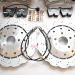 Audi RSQ3 Big Brake Upgrade Brembo 8Pot Calipers 365mm Wave Brake discs NEW-53