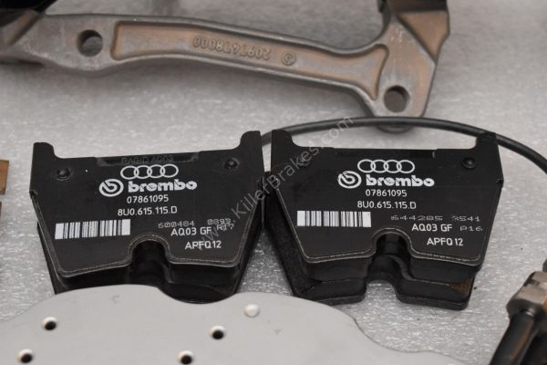 Audi RSQ3 Brembo 8Pot Calipers 8U0615107 8U0615108 20.7675.02 brackets pads pins NEW-6