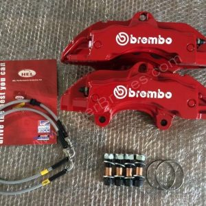 Brembo 6pot calipers 18z with lines and mounting kit www.KillerBrakes.com