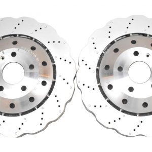 Front Audi RSQ3 8U 365x34mm Brake Discs WAVE 8U0615301B New