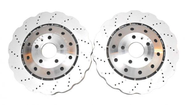 Front Audi RSQ3 8U 365x34mm Brake Discs WAVE 8U0615301B New