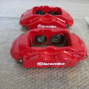 Audi RS3 TTRS 4Pot Brembo Calipers GTi/GT/RS/TTRS/RS3/R32/R20/S3 BBK Red www.KillerBrakes.com