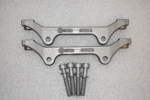 Audi Rs6 RS7 adapter brackets 6pots OEM Brembo for 390mm discs(wave and round)-3