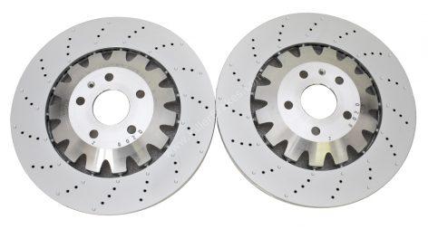Front Audi TTRS 8j 370x32mm Brake Discs 8J0615301K NEW