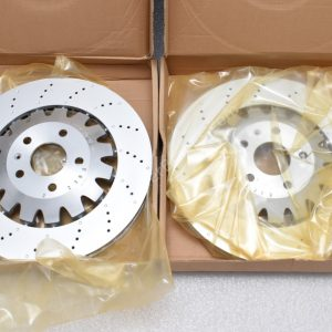 Audi TTRS Genuine Front Brake Discs 370x32mm 8J0615301K NEW