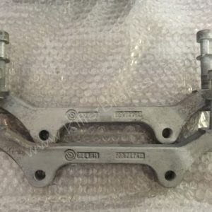 Audi Rs6 RS7 adapter brackets OEM Brembo for 390mm discs 20.9747.14 www.KillerBrakes.com