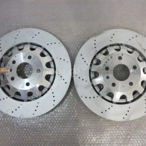 Pair of Audi TTRS Genuine Front Brake Discs 370x32mm 8J0615301K