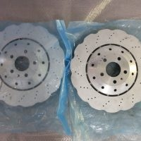 Audi RS6/RS7 complete Front Brake Kit Brembo 6 pot for Audi A5 S5 A6 A7 S6 S7 4G0615301E www.KillerBrakes.com