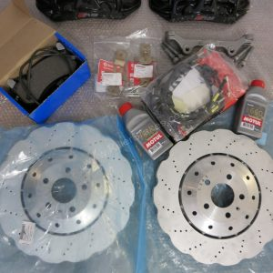 Audi RS6/RS7 complete Front Brake Kit Brembo 6 pot for Audi A5 S5 A6 A7 S6 S7 www.KillerBrakes.com