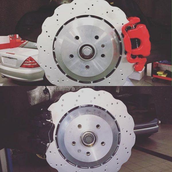 Golf mk7 7R Audi S3 8v Seat Leon Cupra 8v Rear brake upgrade 356mm wave discs www.KillerBrakes.com