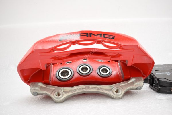 Genuine AMG 6pot Brake Calipers Set with pads for Mercedes-Benz W222 S63 S65 S class HQ SE OEM