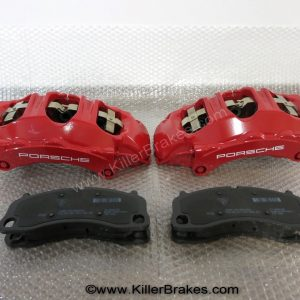Porsche 911 Carrera 2S / 4S Brembo 6pot Calipers Front, C2S, C4S 991351424 991351423 with pads NEW www.KillerBrakes.com