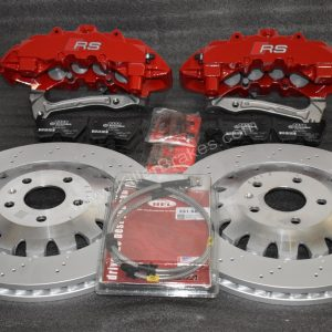 Audi RS Brembo 8Pot Calipers 370mm Brake discs mk5/6/7 R20 S3 8P 8V TTRS mk7 R