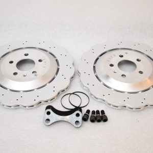 Rear brake upgrade 356mm wave discs Golf 5/6/7 R20 Gti R R32 Audi S3 8v 8p