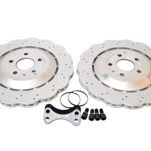 Rear brake upgrade 356mm wave discs Golf 5 6 7 R20 Gti R R32 Audi S3 8v 8p