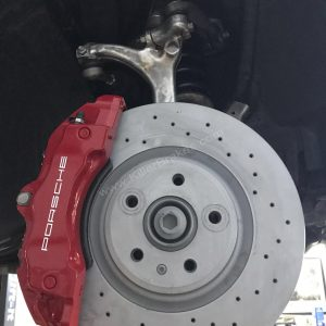 Audi A4 B7 Brembo 6pot 18z brake kit