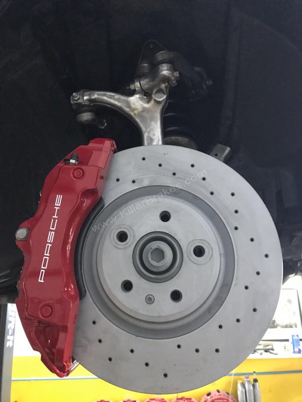 Audi A4 B7 Brembo 6pot 18z brake kit