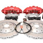 Audi Rs4 RS5 R8 Front Brembo 8Pot 365x34mm Wave brake discs Red