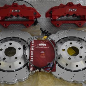 Audi Rs4 RS5 R8 Big brake kit upgrade Brembo 8Pot www.KIllerBrakes.com