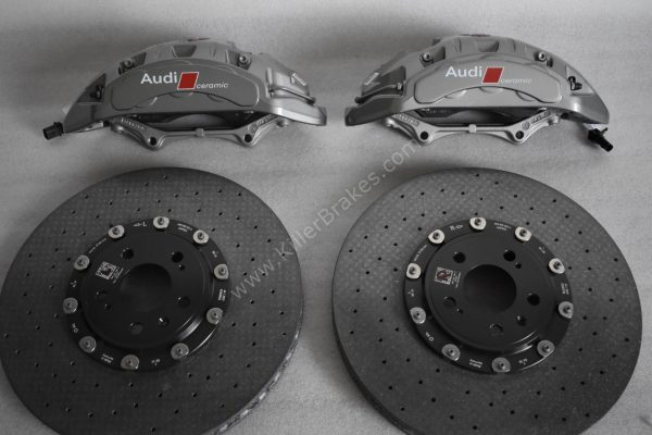 Audi Rs4 RS5 B9 Front Carbon Ceramic Brake Kit 400x38mm NEW- 26