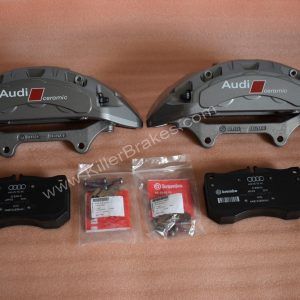 Audi S6 S7 Carbon Ceramic Calipers 4H0615107D 4H0615108D S8 RS4 RS5 RS6 RS7 New