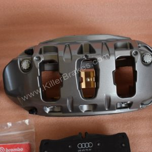 Audi S6 S7 Carbon Ceramic Calipers 4H0615107D 4H0615108D S8 RS4 RS5 RS6 RS7 New www.KillerBrakes.com