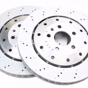 Rear Audi R8 356x32mm Brake Discs 420615601F New