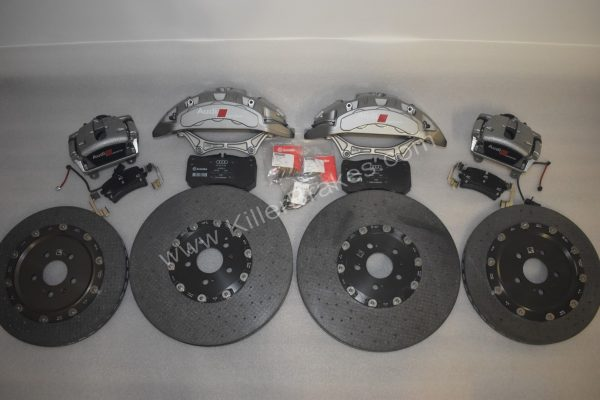 Audi Rs7 Ceramic Brake kit 420x40mm 370x30mm Audi S4 S5 Rs5 S6 S7 NEW