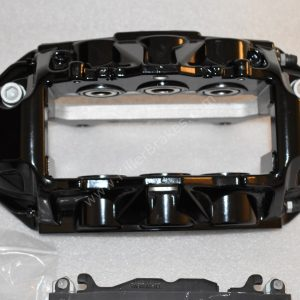 Audi RS6 RS7 Front Calipers Brembo 6pot 4G0615107D 4G0615108D Black New- 13