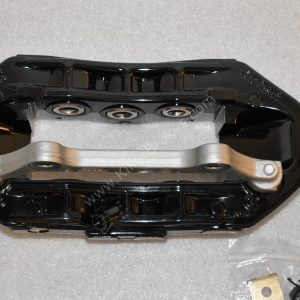 Audi RS6 RS7 Front Calipers Brembo 6pot 4G0615107D 4G0615108D Black New- 9