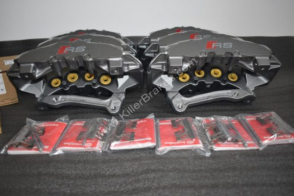 Audi TTRS 8S RS3 Ceramic Calipers pads Brembo 8pot NEW  8v 8S Golf 7 R S3 8v 8S